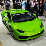Hubbell & Hudson Catered the Lamborghini Festival