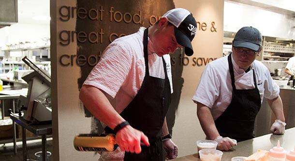 Chef Austin Chef Tasting