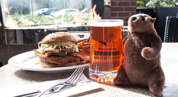 Groundhog Beer Festival at Hubbell & Hudson Kitchen