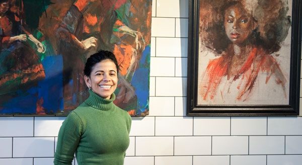 Hilda Rueda at Hubbell & Hudson Kitchen