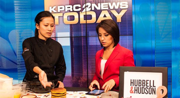 Pastry Chef Nguyet Nguyen on NBC News KPRC2
