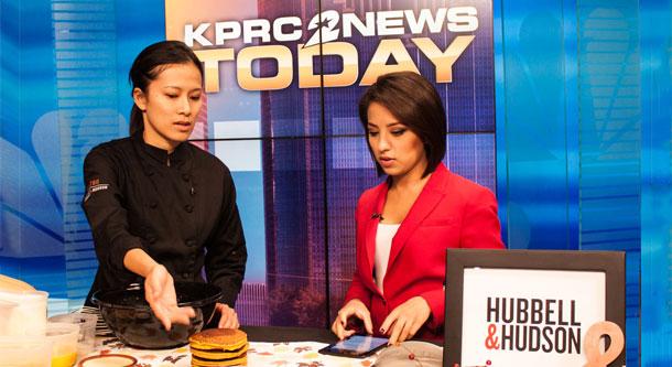 Pastry Chef Nguyet Nguyen on NBC News KPRC2