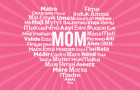 Mom, Mommy, Madre, Mamá – Mother's Day is May 8th