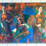 'The Rehearsal' by Hilda Rueda