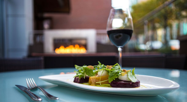 Exclusive Wine Dinners at Hubbell & Hudson Bistro