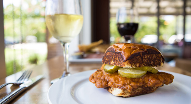 Signature Fried Chicken Sandwich