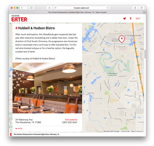 Eater Houston the Hottest restaurants in Houston